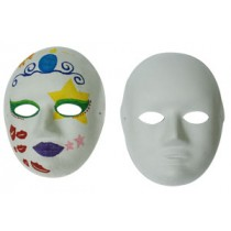DIY空白面具