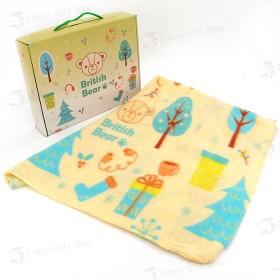 英國熊冷氣毯5×6(150x180cm)(盒裝)