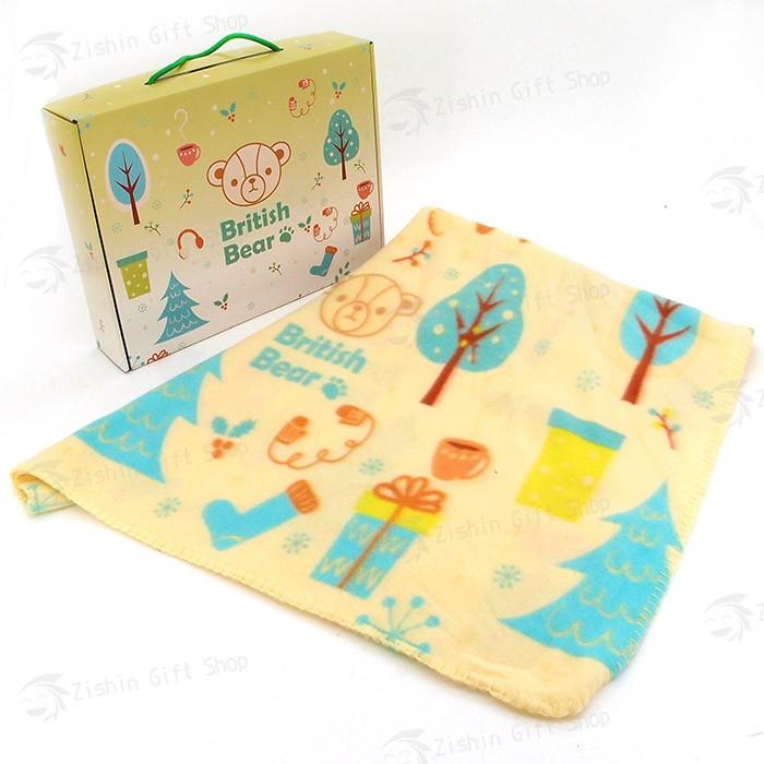 英國熊冷氣毯4×5(120x150cm)(盒裝)