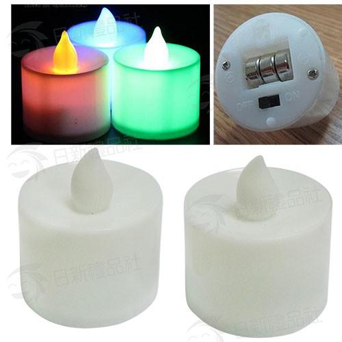 LED環保蠟燭(七色快閃)