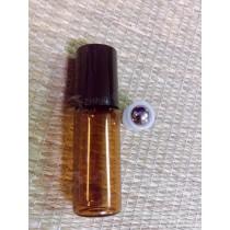 5cc茶色滾珠精油瓶(玻璃)