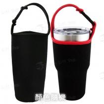 飲料杯套(全罩)-素色(黑)
