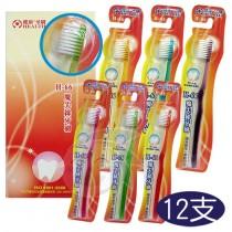 健康魔尖絲牙刷-H66成人(1打)