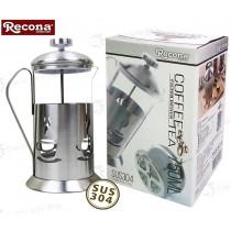 Recona 皇家法式不銹鋼濾茶壺750ml