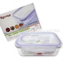 Recona 硼硅耐熱玻璃保鮮盒840ml