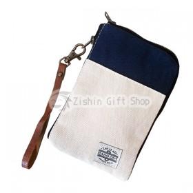 《復刻帆布系列》手機隨身包(藍色)