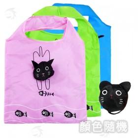 貓咪摺疊環保袋