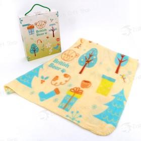 英國熊冷氣毯3×5(90x150cm)(盒裝)