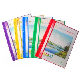 A4-11孔商業輕便資料簿+名片袋